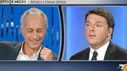 Renzi e Travaglio scherzano (ma non troppo).