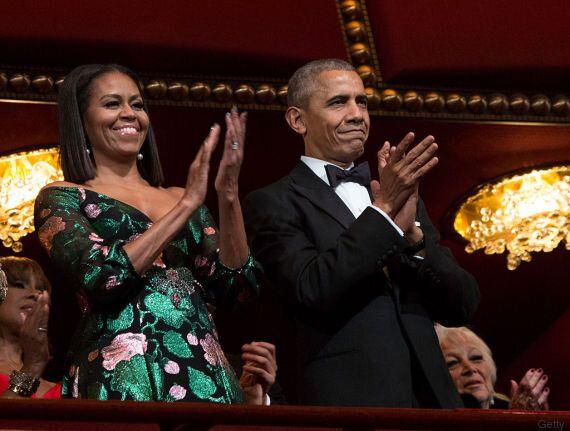 Michelle Obama indossa un abito di Gucci ai Kennedy Center Honors