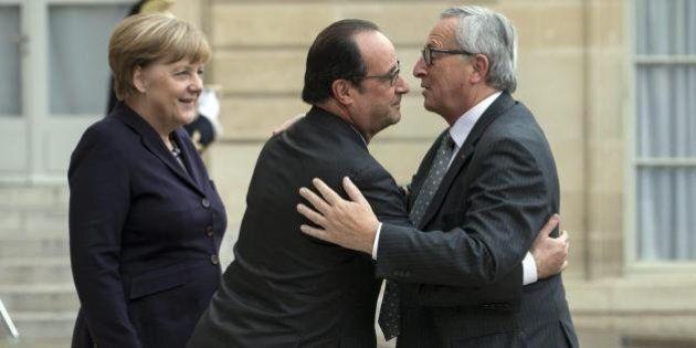 Angela Merkel, Francois Hollande e Jean-Claude Juncker si incontreranno mercoledì. Matteo Renzi