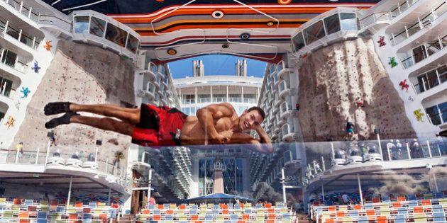Allure of the seas, cartoline dalla nave da crociera più grande del mondo. Qui il
