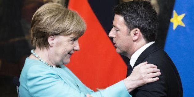 Banche italiane, Angela Merkel usa il bastone e la