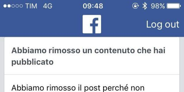 Se Facebook censura un mio post, ma minacce e fake news