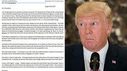 Un consigliere americano ha messo una sorpresa dentro la sua lettera di dimissioni a Donald