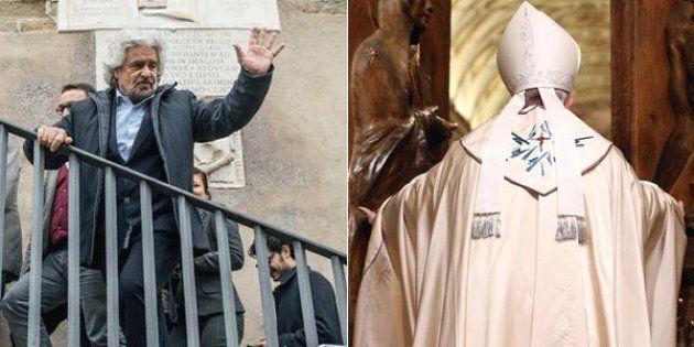 Beppe Grillo Avvenire, San Pietro apre la porta ai