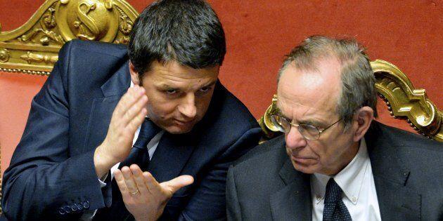 La Boschi sulla manovrina, Renzi sulla manovrona. Padoan costretto al dietrofront