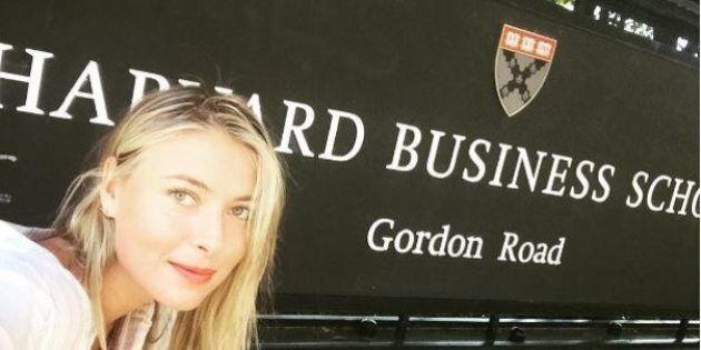 Maria Sharapova si è iscritta ad Harvard. Mentre aspetta la decisione del Tas sulla squalifica studierà