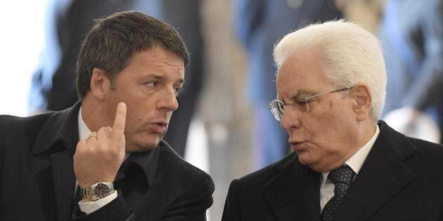 E Renzi e Mattarella vanno in rotta di collisione: il Colle frena sul voto, il premier non