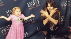 La piccola Audrey corona il suo sogno: il balletto con Selena Gomez è