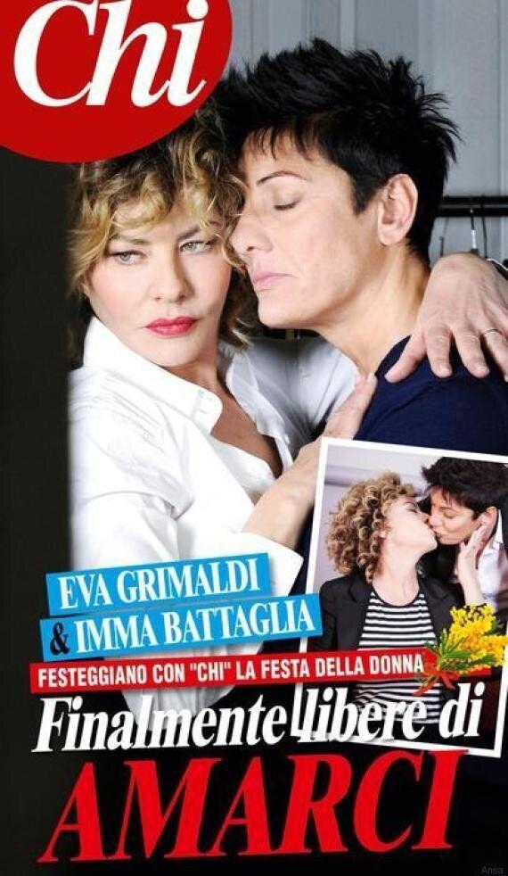 Eva Grimaldi fa coming out: