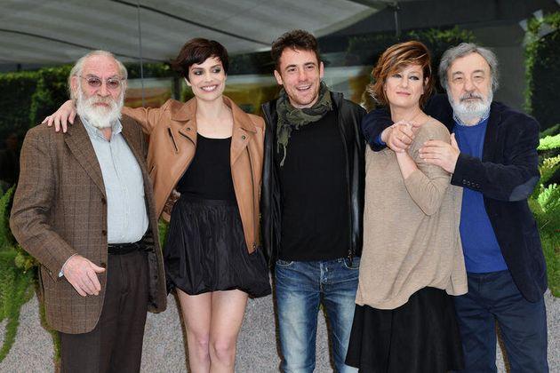 20/04/2017 Roma. Presentazione del film La Tenerezza. Nella foto il regista Gianni Amelio ed il cast...