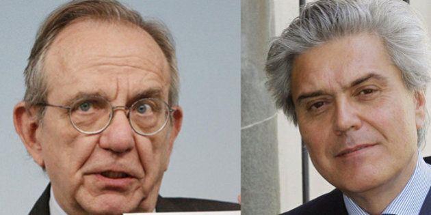 Consip, Pier Carlo Padoan risponde a Sinistra italiana e Forza Italia: