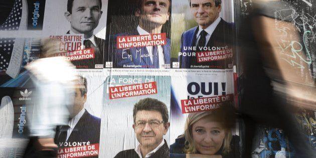 L'ultimo sondaggio sulle presidenziali francesi: testa a testa a tre per sfidare