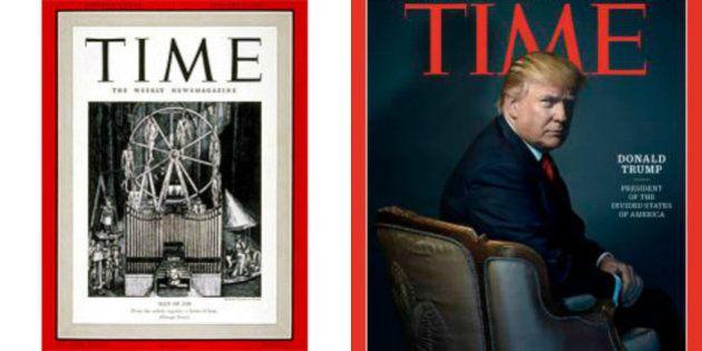 Time nomina Donald Trump