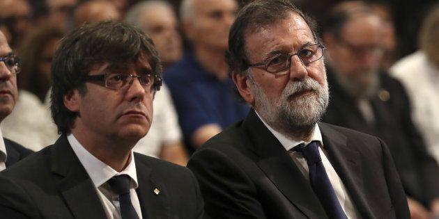Rajoy chiede al presidente catalano di rinunciare a piani di