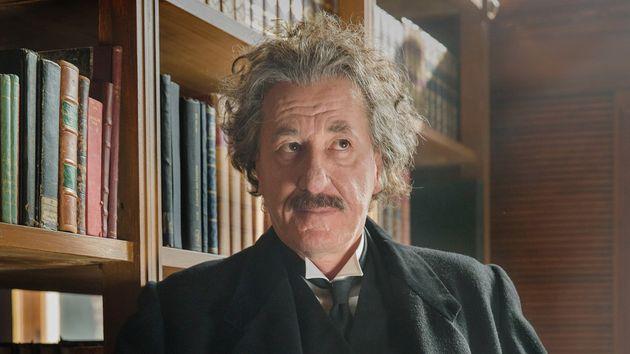 Geoffrey Rush as Albert Einstein in National Geographic's 'Genius'.(photo credit: National Geographic/Dusan