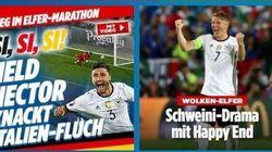 La stampa tedesca celebra la vittoria: