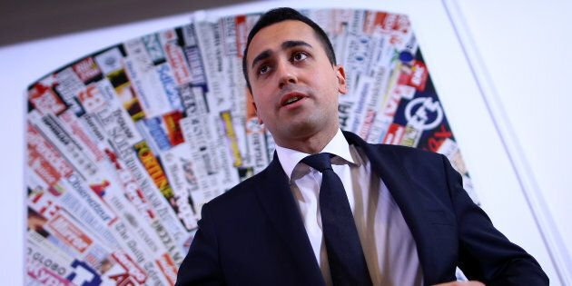 Luigi Di Maio of the 5-Star Movement attends a news conference in Rome, Italy March 23, 2017. REUTERS/Alessandro