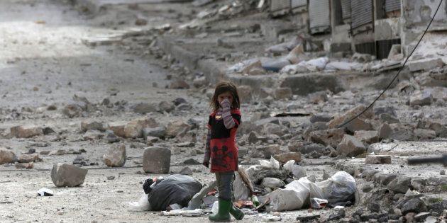 Siria, febbraio 2017. REUTERS/Khalil