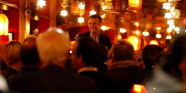 Festa nella brasserie radical chic, prima polemica post-voto su Emmanuel