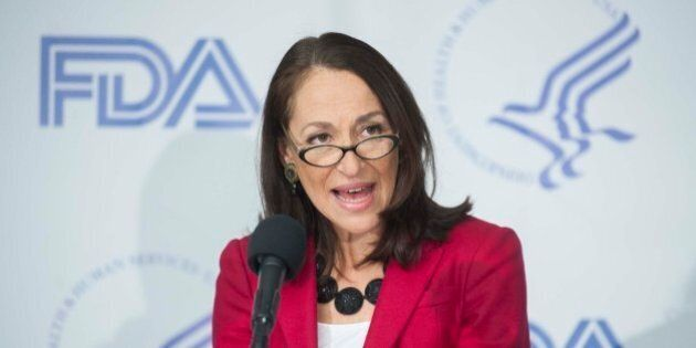 IMAGE DISTRIBUTED FOR FDA YOUTH TOBACCO PREVENTION CAMPAIGN - Dr. Margaret Hamburg, Commissioner of Food...