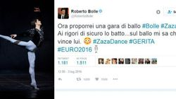 Anche Roberto Bolle sfotte Zaza: