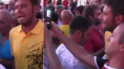 Tutti gli chiedono un selfie, Di Battista sbotta: