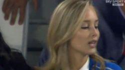 Anche la fidanzata di Pellè si arrabbia dopo il rigore. Il labiale è inequivocabile