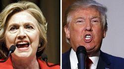 Testa a testa nei sondaggi tra Clinton e Trump a poche ore dal primo duello