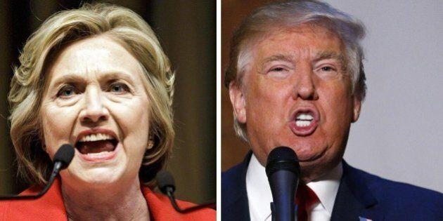 Duello tv Hillary Clinton Vs Donald Trump, a poche ore dal confronto è testa a testa nei