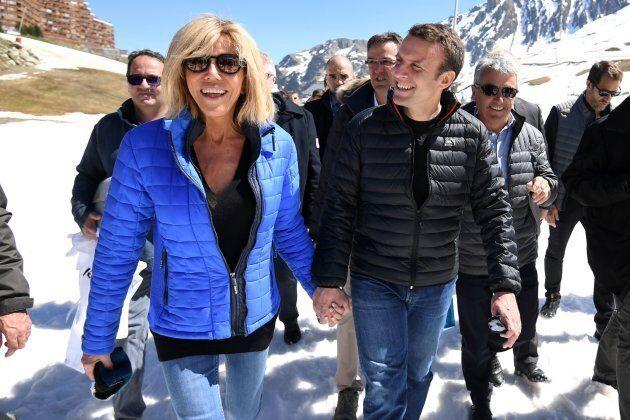 L'amore non convenzionale di Emmanuel Macron e Brigitte