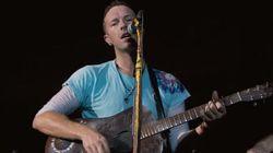 L'omaggio dei Coldplay alle vittime dell'uragano Harvey ha fatto