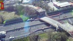 Il figlio delle vittime del crollo del ponte sull'A14: