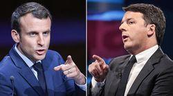 Renzi si appoggia su Macron: