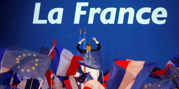 Emmanuel Macron. REUTERS/Philippe