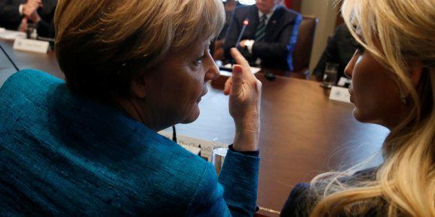 Ivanka a Berlino su invito di Merkel. La strategia della cancelliera per