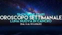 La settimana di Simon and the Stars. L'oroscopo fino al 10