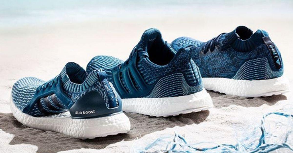 adidas scarpe di plastica riciclata