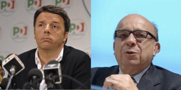 Enrico Mentana pronto a moderare venerdì il duello televisivo tra Matteo Renzi e Gustavo Zagrebelsky...