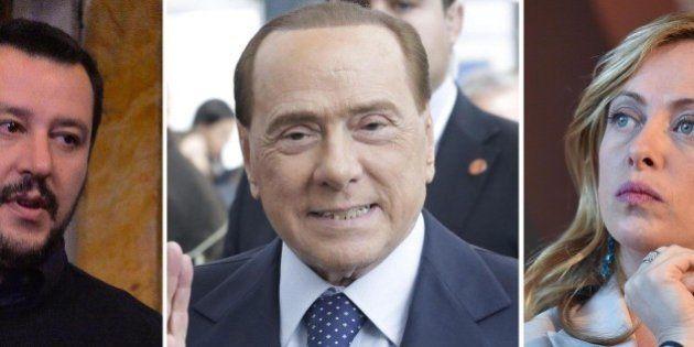 Centrodestra, nonostante le polemiche pubbliche, avanza la trama di una alleanza. Berlusconi: