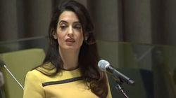 Amal ha fatto un discorso storico alle Nazioni Unite. Ma alcuni preferiscono discutere del