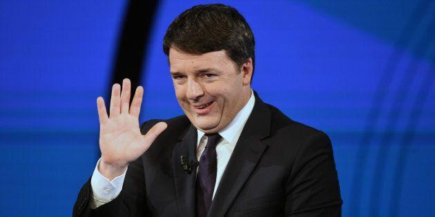 MILAN, ITALY - FEBRUARY 26: Former Italian Prime Minister Matteo Renzi attends a 'Che Tempo Che Fa' Tv...