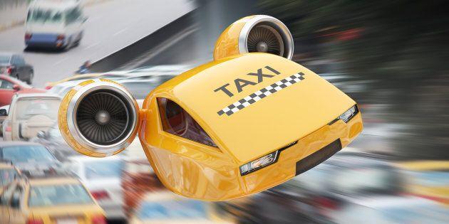 Uber progetta i taxi volanti, entro 3 anni inizierà la