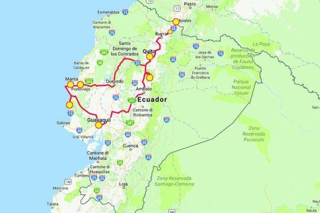 Viaggio in Ecuador, cosa visitare de La Mitad Del