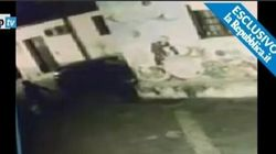 Clochard bruciato vivo a Palermo: le immagini raccapriccianti