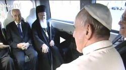 Quando Peres scherzava col Papa e Abu Mazen