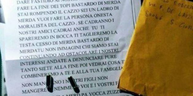 Minacce e proiettili a Danilo Cascone, consigliere M5S della Città Metropolitana di Napoli. Grillo: