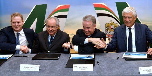 Alitalia rischia il fallimento, ma Etihad potrebbe averci