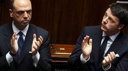 Nel governo scoppia il caso Alfano: Renzi preoccupato per la tenuta di