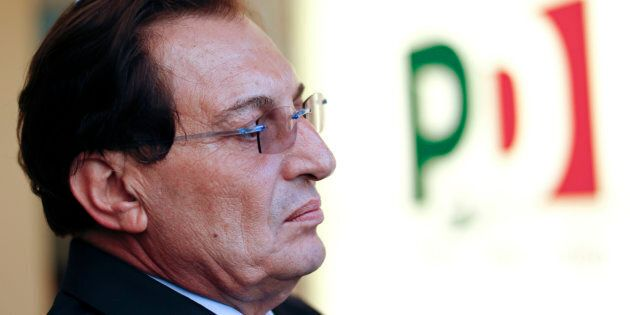 New Sicily governor Rosario Crocetta attends an interview in Rome in this November 8, 2012 file photo....
