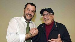 Peppino con Salvini